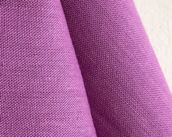 Organic Solid Fabric in Lilac from the Cirrus Solids Collection from Cloud9 Fabrics. - ONE FAT QUARTER Cut