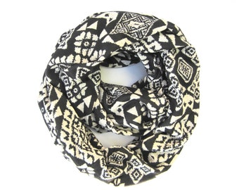 Circle Scarf, Infinity Scarf, Double Loop Scarf, Eternity Scarf, Womens Gift, Holiday Gift, Winter Scarf, Ready to Ship