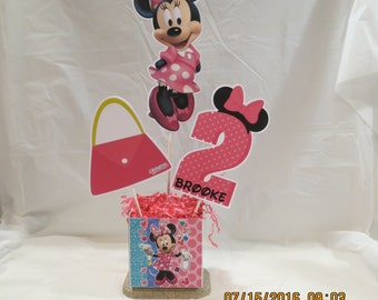 Minnie's Bow-tique Centerpiece