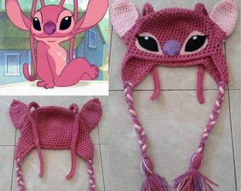Crochet Angel Experiment 624 Beanie/Hat