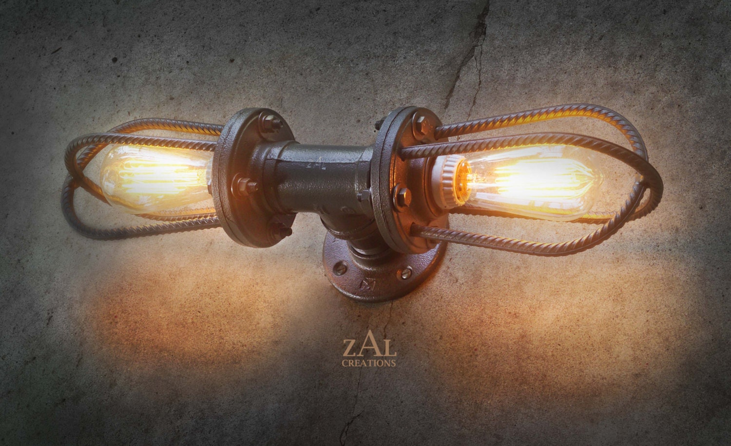 Rebar Sconce. Wall Light. Ceiling Light. Vanity Light.
