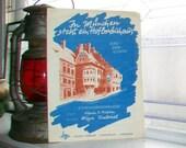 Vintage Sheet Music 1920s In Munchen Steht Ein Hofbrauhaus