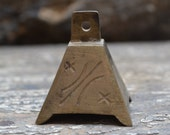 India brass bell BL306