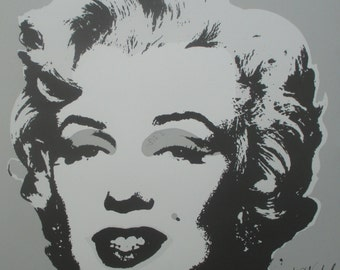 Andy Warhol Marilyn Monroe signed limited edition lithograph 1275/2400 II.24