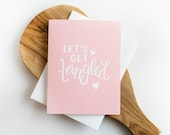 Let's Get Tangled Greeting Card