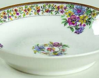 Set of Four Fruit or Dessert Bowl 5 Inch Haviland Narcissus