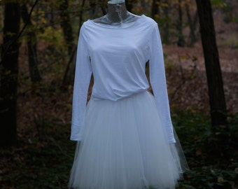"Robe de mariée courte ""Love"""