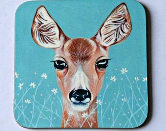 Deer Coaster - single