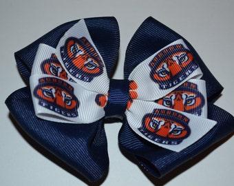 Auburn Tigers Hair Bow