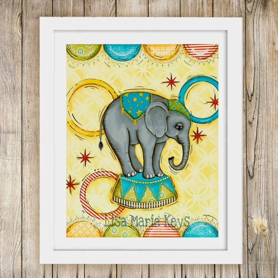 Circus Wall Art - Elitflat