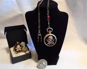Pirate Pocket Watch