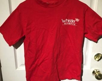 Whistler vintage tshirt