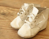 Vintage Baby Shoes Ideal Soft Shoe Infant Nursery Baby Room Prop