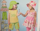 McCall's 6495-- Toddlers'/Children's Top, Dress and Pants  Sizes 1-3
