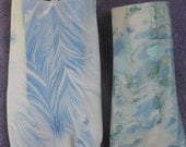 marbling on ceramic wall pocket set ship incl