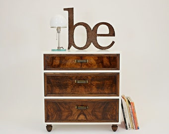 Vintage Chest with old dravers by Benjamin Mangholz