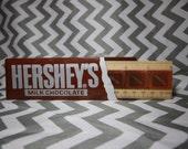"""Vintage Hershey's 6"""" Ruler"""