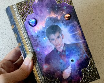 Dr. Who David Tennent TARDIS Faux Book Box