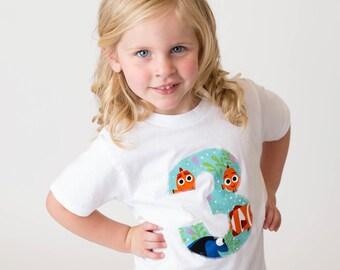 Finding Dory Birthday Shirt, Girls Finding Dory Shirt, Finding Dory Party, Finding Dory Shirt, Girls Birthday Shirt, Dory Birthday Shirt