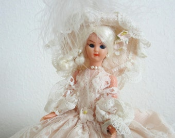 Vintage Doll with Brugge Lace Outfit Southern Belle Collectible