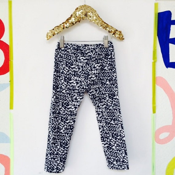 STAND 4-5 Years Kids Soft Stretchy Leggings Pants Toddler Trousers Sweat Pants in Upcycled Cotton Jersey Unisex