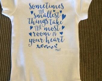 Custom Bodysuit ; Bodysuit With Sweet Message; Shower Gift; Baby Gift