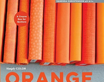 Simply Color: Orange Hardcover – 31 Mar 2015 by Vanessa Christenson
