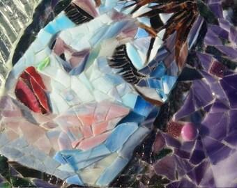 Pluviana - loving rain Mosaic Art OOAK