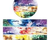 DIY Removable Adhesive Masking Deco Washi Tape - Four Seasons (20 mm Width)