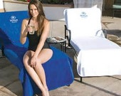 Personalized Lounge Chair Cover Free shipping