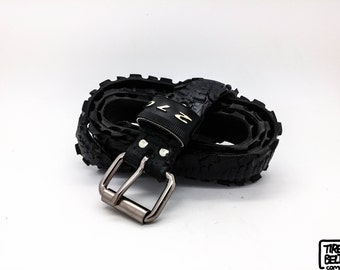 """Bicycle Tire Belt """"270"""" (upcycled vegan handmade) by tirebelt.com - Fall Collection 2015"""