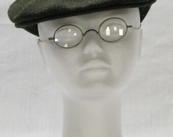 Vintage Spectacles, French Spectacles, Old Glasses, French Eye Glasses, Art Deco Specs,  Spectacles, Stage Props, Desktop Items (022)