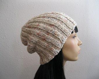 Knit Beanie - Slouchy Beanie - Beanie Hat - Knitted Slouchy Beanie - Knit Hats - Beanies - Knit Beanie Hat - Slouchy Beanie Hat