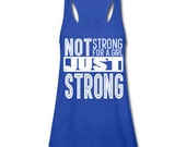 Just Strong - Workout Circus Athletic Aerial Yoga Fitness Tank
