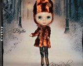 Blythe ~ Russian Style ~ Rust Faux Fur Coat and Hat~ Vintage Inspired  by KarynRuby