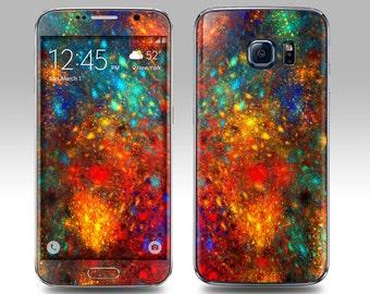 PAINT SPLATTER Galaxy Decal Galaxy Skin Galaxy Cover Galaxy S6 Skin, Galaxy S6 Edge Decal Galaxy Note Skin Galaxy Note Decal Cover