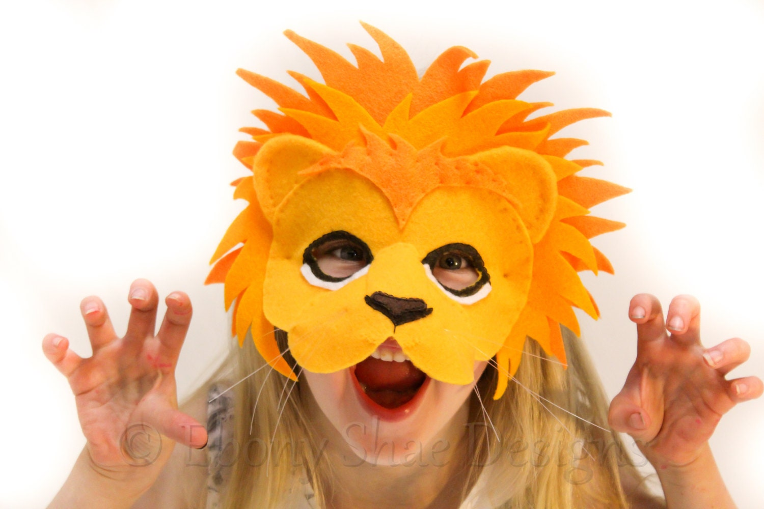 Lion Mask Template Choice Image - Template Design Ideas