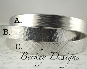 Customize Your Bracelet - 1/2 Inch Hand Stamped Bracelet by Berkey Designs
