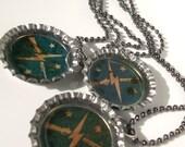 Fallout 4 Minutemen ballchain bottle cap necklace