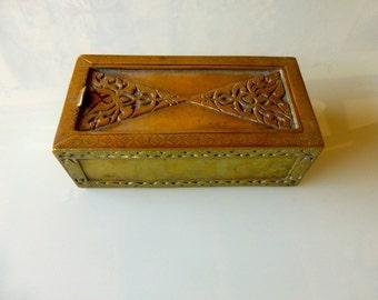 Antique Bronze Persian Scribe Box