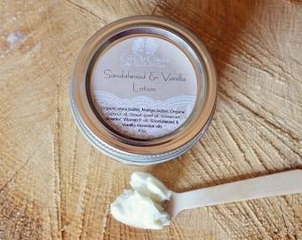 Sandalwood & Vanilla Lotion