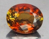 1.21 Ct Natural Tourmaline Yellow Red Africa Unheated