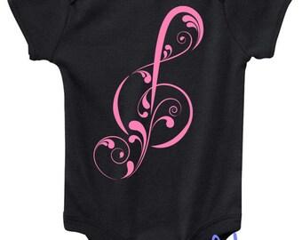 Clef Design in Pink