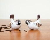 Vintage OMC Otagiri Japan Bird Decor Set of 4 - Mid Century