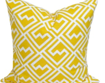 Yellow Pillow, Yellow Pillows, Yellow Pillow Cover, Decorative Pillow, Yellow Throw Pillow, All Sizes, Yellow Euro, Yellow Cushion, Shakes
