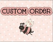 Custom Listing for Jill - Eleven (11) Large Whipped Body Butter Baby Shower Favors (Puppy Love - Design #3)