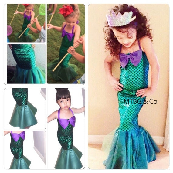 MERMAID STAR little mermaid dress mermaid dress costume