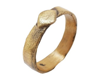 Early Medieval, 11th century Mans Ring  [FNS1418d]