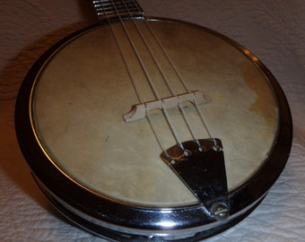 Dixie All Metal Banjo Ukulele