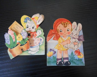 1950's Easter Cards Unused - A-Meri-Card